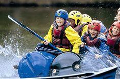 """Fremdsprache und Abenteuer.Englischunterricht und Outdoor-Spaß lassen sich im """"Adventure Camp"""" verbinden."""