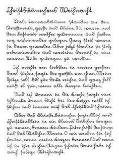 Alte deutsche Schrift - Sütterlin und Kurrent - Home ...