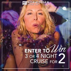 It's time for a double contest! Enter at the link below for a chance to win a 3 or 4 night cruise for two on Norwegian Cruise Line courtesy of us! AND, if you save our board, like this post, and share this post, you will also be entered to win a $50 Amazon gift card just for playing along! Winners for both contests will be announced and contacted on October 16th! Good Luck!