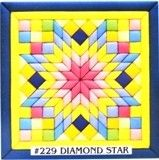 229 Diamond Star is another new kit from quilt magic. Find it at www.Tuck-N-Go.com