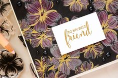 It's STAMPtember! | Clearly Besotted Exclusive – My Best Friend