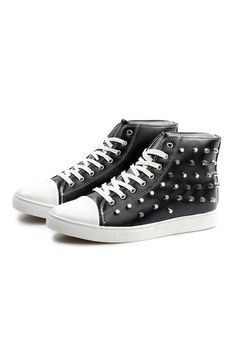 Autumn Hot Style Men's Rivets High Side Casual Shoes Fashionable Punk Wind Male Rivet Sneakers | ราคา: ฿2,298.60 | Brand: Unbranded/Generic | See info: http://www.topsellershoes.com/product/63244/autumn-hot-style-mens-rivets-high-side-casual-shoes-fashionable-punk-wind-male-rivet-sneakers