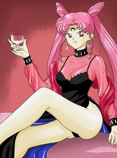 Sailor Moon, wicked lady, yet the only time I can really stand Rini....