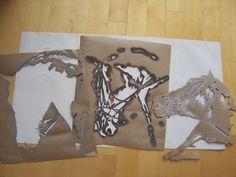 maalaussapluunat -  sapluunat Everyday Items, Stencil, Moose Art, Horses, Animals, Design, Animales, Animaux, Animais