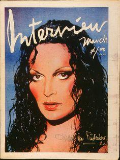 Diane Von Furstenberg Interview Magazine, March 1977
