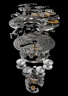 Vacheron Constantin Calibre 2253 - Exploded movement