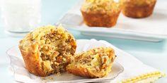 Pineapple Carrot Ginger Bran Muffins