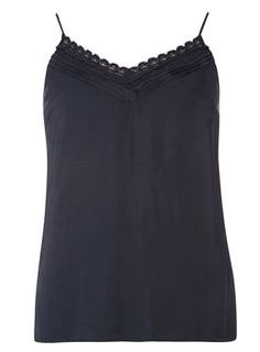 **Vila Navy Sleeveless Top