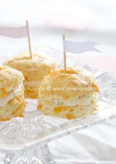 Mini panecillos de queso