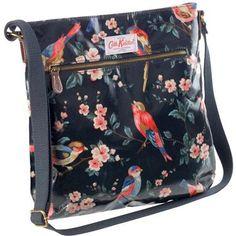 Cath Kidston is always a winner.  http://www.cathkidston.co.uk/p-17045-cath-kidston-british-bird-oilcloth-cross-body-bag.aspx