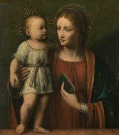Bernardino Luini: La Virgen y el Niño.