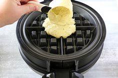 Falafel Waffles - The Kitchenthusiast