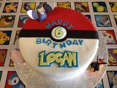 Cake Endeavours: Pokemon Ball Cake