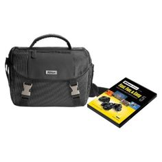 I'm learning all about Nikon Black Digital SLR Camera Bag with Instructional DVD 9793 at @Influenster!