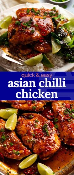 Quick Chicken Dishes, Healthy Chicken Dinner, Chicken Wing Recipes, Recipe Chicken, Healthy Dinner Recipes, Asian Recipes, New Recipes, Recipies, Cooking Recipes