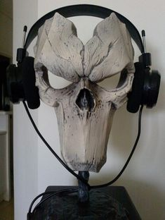 headphone holder wooden - Google Search