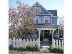 $249,900  Warwick Village~NY Beautiful turn-key 1890 circa victorian home in the sought after location of warwick's prestigious village. This 3 bedroom home offers traditional period charm & preserved detail throughout when entering through the beautiful double stained glass entry doors, rocking chair front porch, white picket fence, original moldings, hardwood floors throughout beneath new laminate flooring, original period built ins that define character.  Contact: Jen DiCostanzo