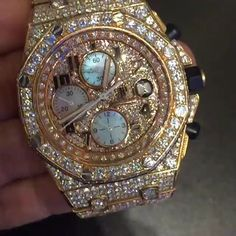 AUDEMARS PIAGET (BUST DOWN) BY PRISTINE JEWELERS| PINTEREST: LOVEMEBEAUTY85