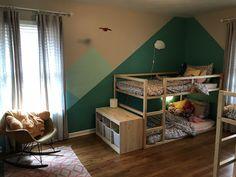 Ikea Bunk Bed Hack for Kids Bedroom