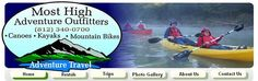 Canoe, Kayak, and Bike Rental - Most High Adventure Outfitters, Bloomington, Indiana