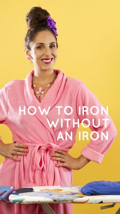 How To Iron Without An Iron | SuzelleDIY