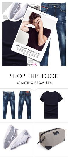 """""""Newchic style - Man's fashion"""" by mymilla ❤ liked on Polyvore featuring Men's Society, men's fashion and menswear"""