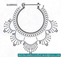 ari2...This diagram is for making lotus flower earrings!!