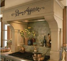 Who wouldn't love cooking in this kitchen?