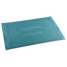Коврик для ванной SMART BEAUTY HOME Бриз Q01270038 хлопок 65х45см бирюзовый