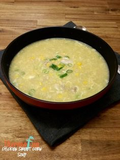 Week 28 - Thermomix Chicken Sweet Corn Soup - ThermoFun. Join Today! and have access to these past recipes.