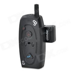 Bluetooth Hands-free Walkie Talkie / Intercom Headset w/ FM / Mic. for Motorcycle Helmet - Black. Brand new design; - With built-in antenna and headphones; - Can achieve up to 1000 meters two-way full duplex communication intercom distance in open area; - Still can work even when the speed is more than 120km; - Can answer phones automatically and safely; - With advanced A2DP & EDR bluetooth function, you can enjoy the music in your cellphones; Moreover, it can also connect to bluetooth GPS…