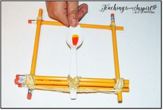 Candy Corn Catapult activity with FREE printables on this blog post. Perfect Halloween or Fall STEM project