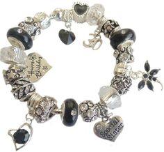 http://www.cliart.it/c/121748314335&pid=12    Signore donne compleanno braccialetto con ciondolo mezzanotte nero in argento  Italia    #Signore #donne #compleanno #braccialetto #con #ciondolo #mezzanotte #nero #in #argento #Italia #fashion
