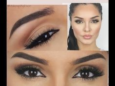 ❤ ℒℴvℯly Quick Eyebrow Tutorial Using Anastasia Beverly Hills Dip Brow Pomade 2014 Makeup Is Life, Love Makeup, Makeup Tips, Beauty Makeup, Makeup Tutorials, How To Do Eyebrows, How To Apply Eyeliner, Anastasia Makeup, Anastasia Soare