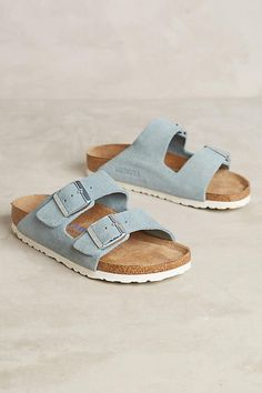 Slide View: 1: Birkenstock Arizona Slides