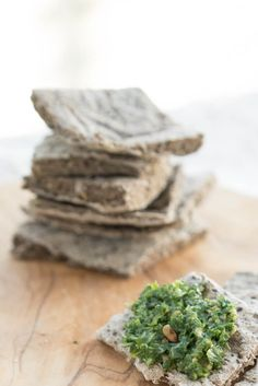 Make your own delicious Rosemary Buckwheat Chia Crackers! Buckwheat Gluten Free, Gluten Free Oats, Gluten Free Flour, Flour Recipes, Vegan Recipes, Health Recipes, Yummy Recipes, Joyous Health, Banana Flour