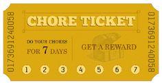 chore ticket