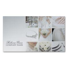 Modern Elegant Wedding Planner Business Card