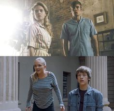 The Gifted: both generations of the Von Strucker siblings Series Da Marvel, Marvel And Dc Characters, Marvel Movies, Men Tv, X Men, Strucker Marvel, The Gifted Tv Show, Natalie Alyn, Runaways Marvel