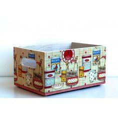 Caja madera Petit Déjeuner