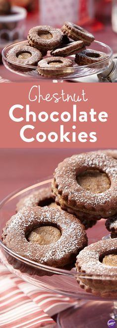 Chestnut cream cookie recipe