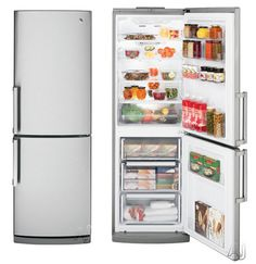 European Style Fridge   Taller But Narrower Inches Wide.