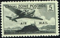 Canal Zone, 1939, Air Mail