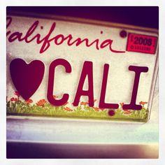 <3 Cali. Enough Said.