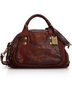 Frye Elaine Vintage Satchel Handbags Accessories Macy S Leather
