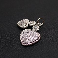 Shop for jewellery on Etsy, the place to express your creativity through the buying and selling of handmade and vintage goods. Cool Things To Buy, Stuff To Buy, Trending Outfits, Unique Jewelry, Stud Earrings, Handmade Gifts, Sterling Silver, Pendant, Heart