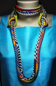 Wearing Bead Crochet