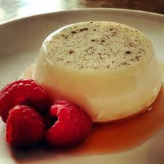 """Panna Cotta! """"Great recipe. Came out perfectly! Recipe leaves out a few steps: set in the fridge overnight and serve with a citrus liqueur. Delicious! :nod""""  @allthecooks #recipe #dessert #cold #cotta #easy #christmas"""