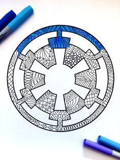 8.5x11 PDF coloring page of the Star Wars Galactic Empire symbol! This is a DIGITAL DOWNLOAD PDF. This is not a physical product. 1) Download the PDF that comes to your email after purchase 2) Save the PDF to your computer 3) Print and color the PDF as many times as you like! HOW TO