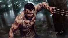 Logan by themimig on DeviantArt Logan Wolverine, Wolverine Movie, Marvel Wolverine, X Men Comics, Marvel Comics, Jean Grey, X Men Storm, X Men Mystique, X-men Evolution